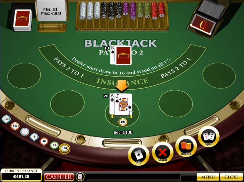 Gambling online black jack commerce casino la poker classic